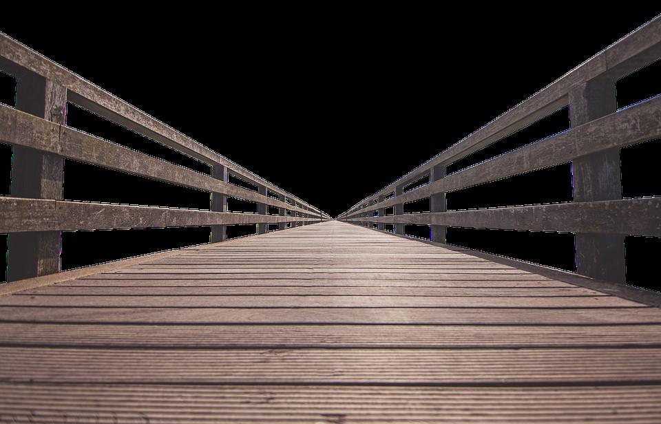 dřevěné zábradlí