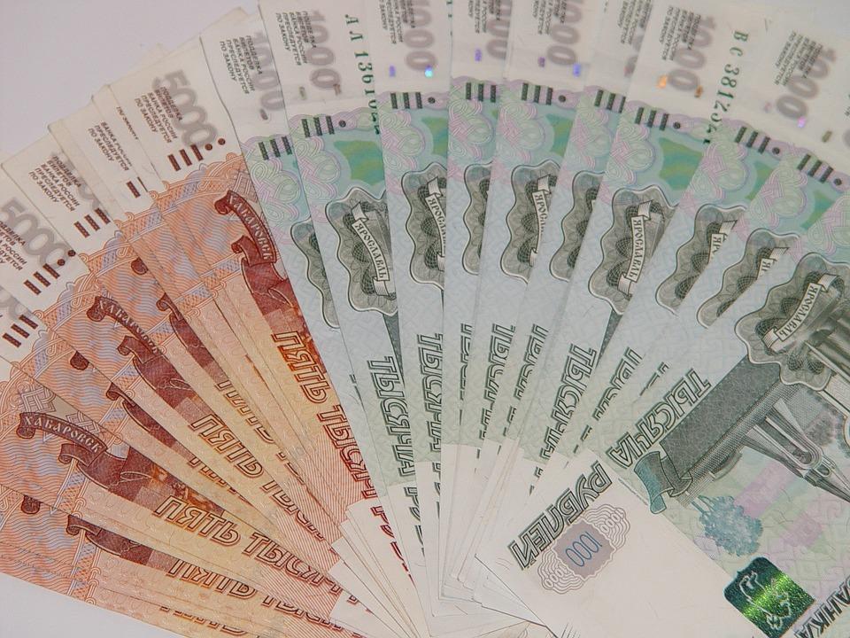 vějíř z rublů